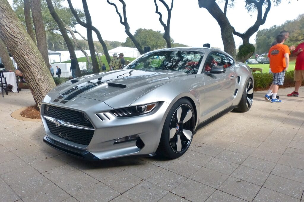 2015 Ford Mustang Galpin Rocket gray