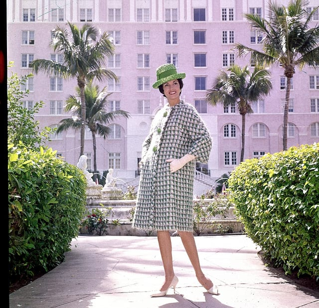 Women's Fashion,easy does it for spring,textured fabric,shot in Florida in Midwest Magazine.March24 1963