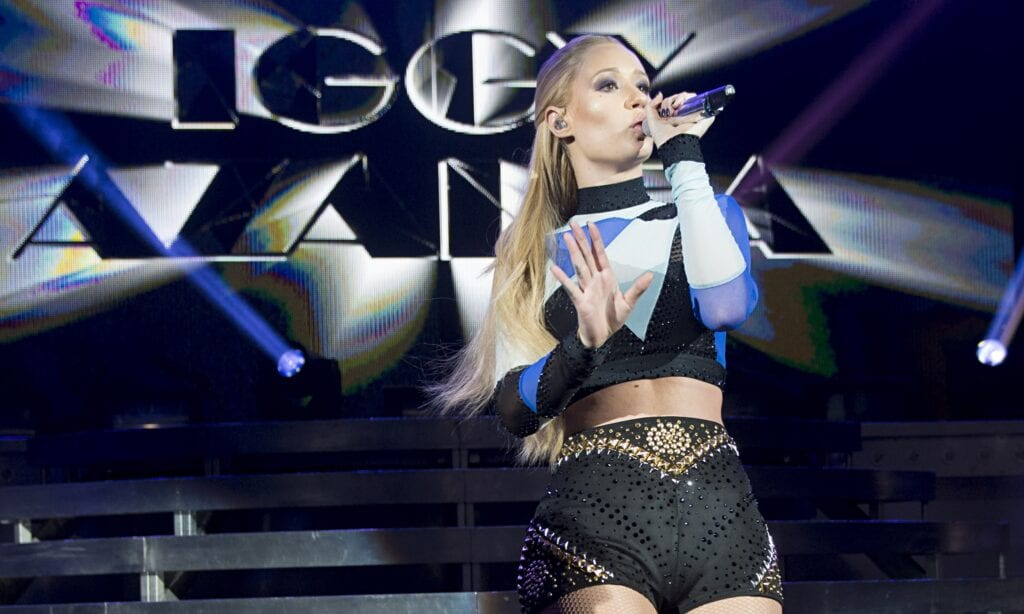 Iggy Azalea had the crowd 'erupting for every song' at her one-off London show last week.