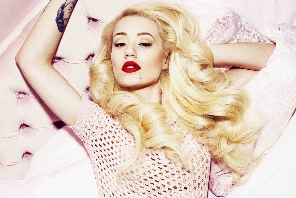 Iggy Azalea for Sunday Features music review. HANDOUT BUT PLEASE CREDIT - Rankin