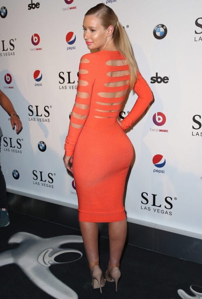SLS Las Vegas Grand Opening - Red Carpet Featuring: Iggy Azalea Where: Las Vegas, Nevada, United States When: 23 Aug 2014 Credit: Judy Eddy/WENN.com