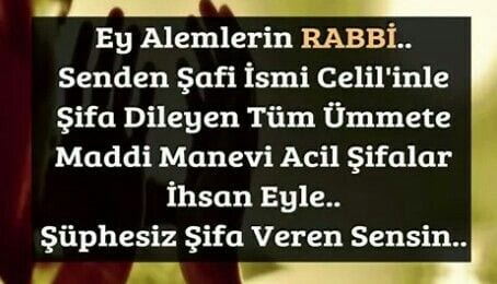 Ey alemlerin rabbi..