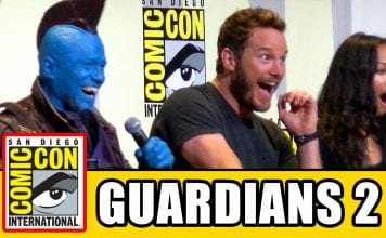 GUARDIANS OF THE GALAXY 2 Comic Con 2016 - Chris Pratt, Zoe Saldana, Dave Bautista, Kurt Russell