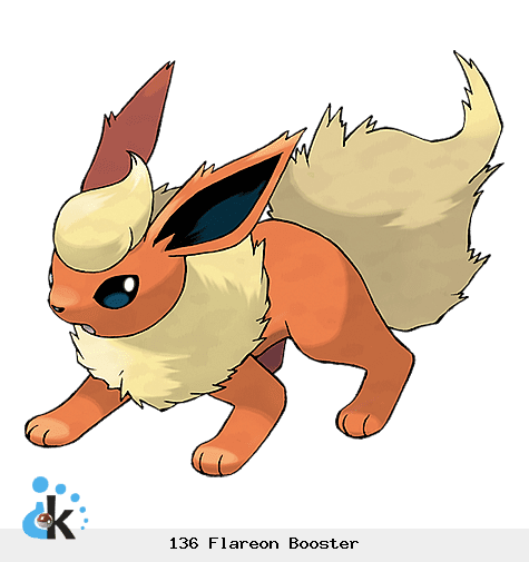 136 Flareon Booster