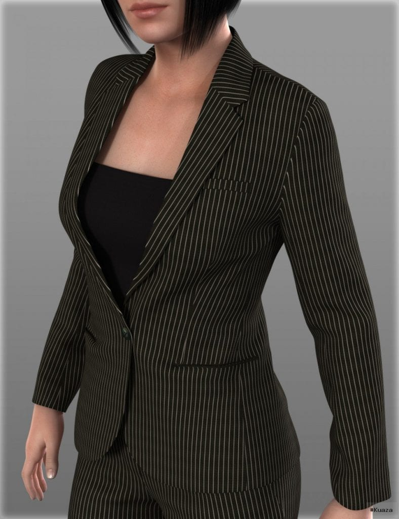 DAZ 3D – Women's Suits B for Genesis 2 Female(s) – 3DCG Models …
