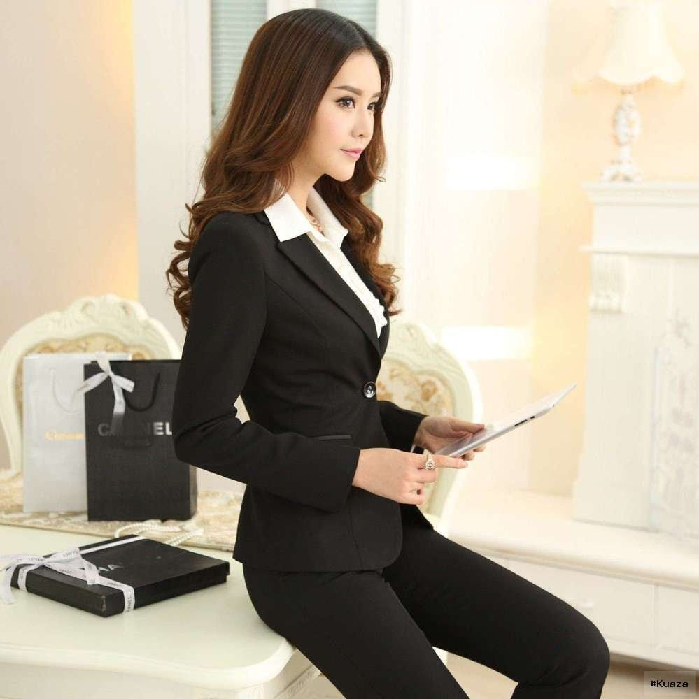 Latest branded business suits for women 2015 2016 (2)   Latest …