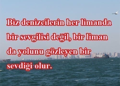 Gemi Liman sozleri | Quotes of The Day